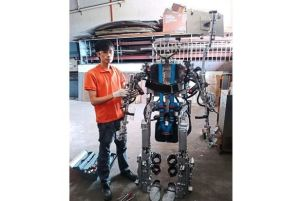 "The winning Malaysian entry in 2014, submitted by UCSI University student Desmond Tan Mun Yung, was a full-body ""exoskeleton"" which aims to help disabled patients with movement."