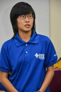 Curtin University Sarawak's Ling is honoured to be the first Malaysian to receive the IEEE Larry K. Wilson Award