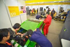 Curtin University Sarawak participates in the Shell Eco Marathon