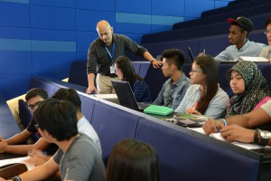 Lecture theatre at Heriot-Watt University Malaysia