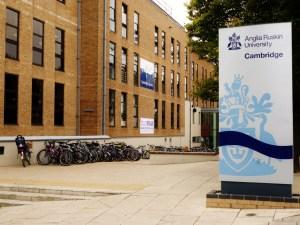 Anglia Ruskin University in Cambridge, UK