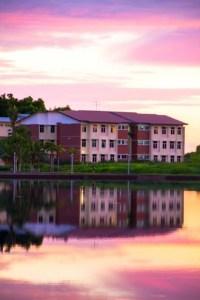 On-campus student hostel accommodation at Curtin University Sarawak
