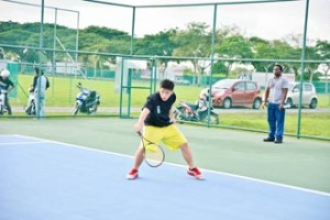 Students have access to excellent sporting facilities at Curtin University Sarawak