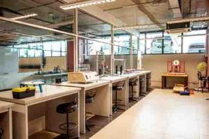 Engineering lab at Asia Pacific University (APU)