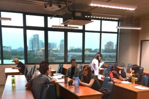 Classroom at Asia Pacific University (APU)'s new campus