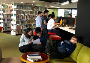 Library at Asia Pacific University (APU)