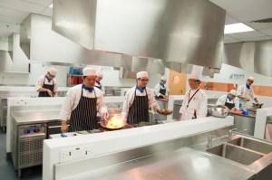 BERJAYA University College of Hospitality Kitchen