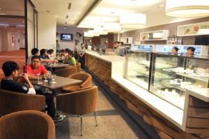 BERJAYA University College of Hospitality Cafe operated by students