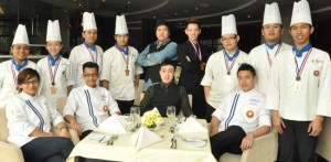 Eleven students from BERJAYA University College of Hospitality won various medals at the Battle of the Chefs 2013