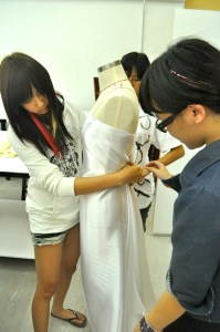 Fashion Design studio at Saito College