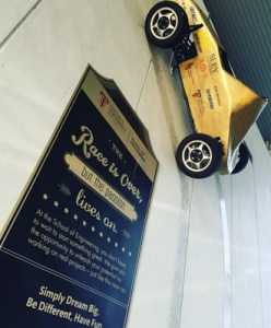 Award-winning racing car built by Taylor's University engineering students
