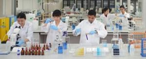 Bioscience lab at Taylor's University