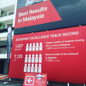 Taylor's College is the best in Malaysia for Cambridge A-Levels
