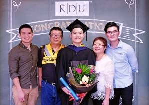 Graduated in Mass Communication from KDU University College
