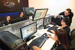 Game Design Development students at University of Wollongong Malaysia (UOWM) KDU are taught by qualified lecturers with industry experience