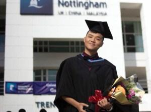 University of Nottingham Malaysia graduate
