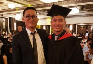 Diploma in Culinary Arts Graduate from YTL International College of Hotel Management