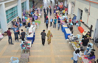 An active university life at Multimedia University (MMU) Cyberjaya