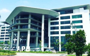 Asia Pacific University (APU) new modern campus located in Technology Park Malaysia