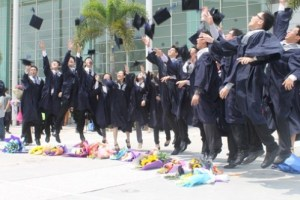 Multimedia University (MMU) graduates