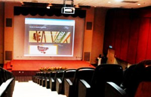 Electronic Theatre at Faculty of Creative Multimedia, MMU Cyberjaya
