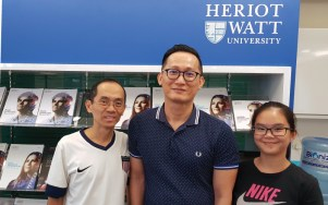 I wanted my daughter to study a nursing diploma after her Pre-U. Luckily, after assessing my daughter, EduSpiral advised me to send her to Heriot-Watt as she had excellent results in her Pre-U & that engineering suited her more. Mr. Yeo