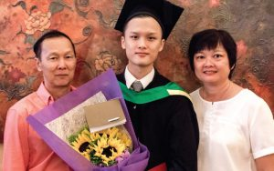 I didn't come from a rich family but I very much wanted to go to KL to study. EduSpiral helped me to find a good university with affordable fees. Eric Lau, Graduated from Graphic Design at First City University College