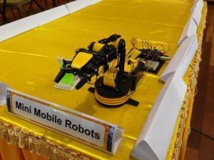 Mobile Robots at Faculty of Engineering & Technology at Multimedia University (MMU) Melaka