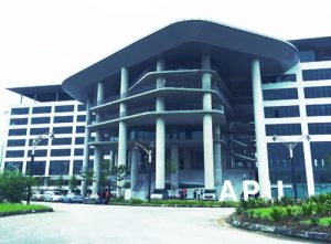 """Asia Pacific University (APU) is ranked Tier 5 or """"Excellent"""" in the SETARA 2013 rating by MQA. APU is now operating at its new iconic campus at Technology Park Malaysia, Kuala Lumpur."""