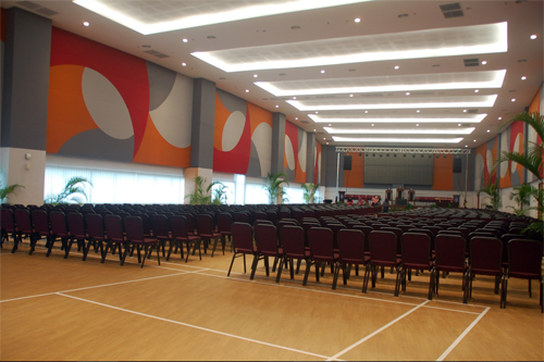 Hall at MAHSA University