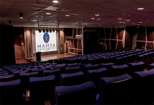 Auditorium at MAHSA University