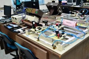 Multimedia University (MMU) Melaka Robotics PLC Pneumatic System lab for Engineering students