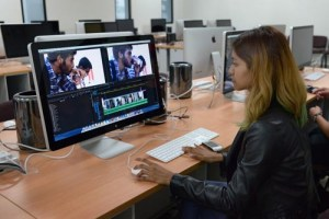Post Production Suite at Multimedia University (MMU) Cyberjaya campus