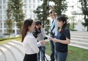 Communication students at Taylor's University