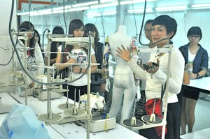 Fashion Design studio at Saito University College