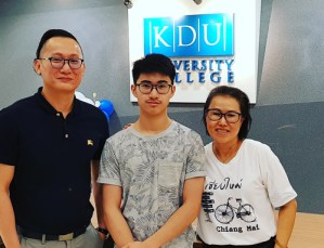 I wasn't sure of which course to study & Lonnie , from EduSpiral, guided me to choose the right course based on Job Demand & Salary. Hong Ming, Foundation in Computing & Technology at KDU University College
