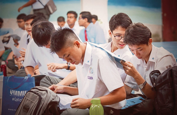With 3 Credits in SPM or UEC 3Bs you can join a Diploma Course in Malaysia