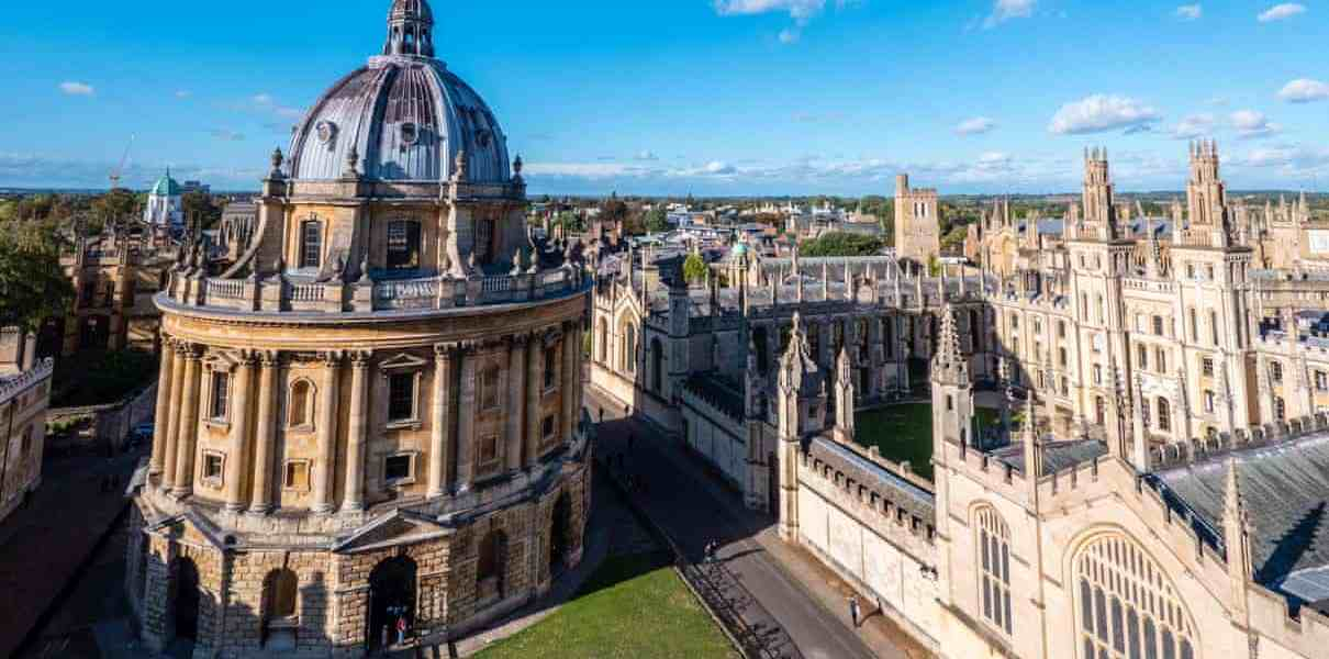 Oxford University is ranked no. 1 in the UK in the 2021 Guardian University Guide