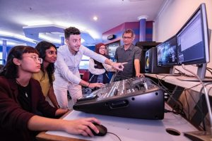 Multimedia University (MMU) Animation & Visual Effects and Creative Media Students have accessed to technologically advanced labs & facilities like this Creative Audio Lab to enhance their creativity