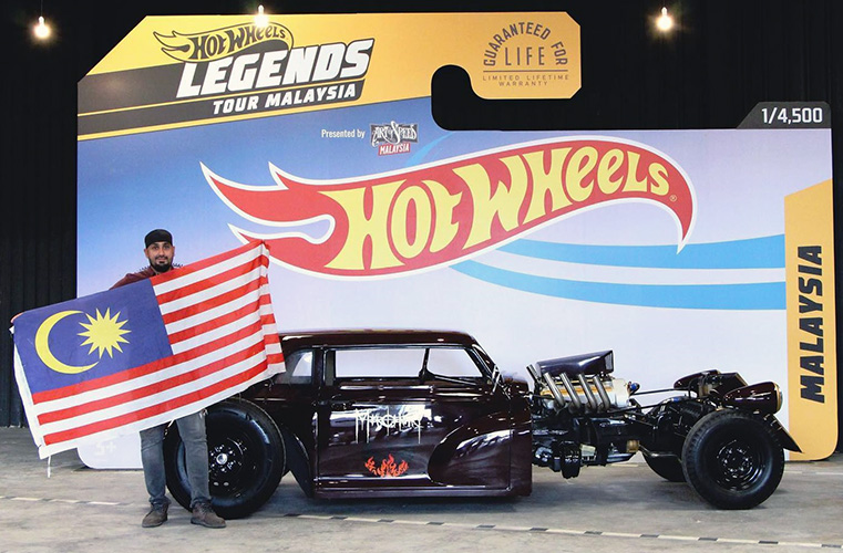 """Ravinder Singh, an electrical and electronics engineering graduate from Multimedia University (MMU) has made Malaysia proud after his entry, a Morris Minor """"Mercenary"""" made it into the Top 13 finalists from across the globe for the 2020 Hot Wheels Legends Tour World Finals."""