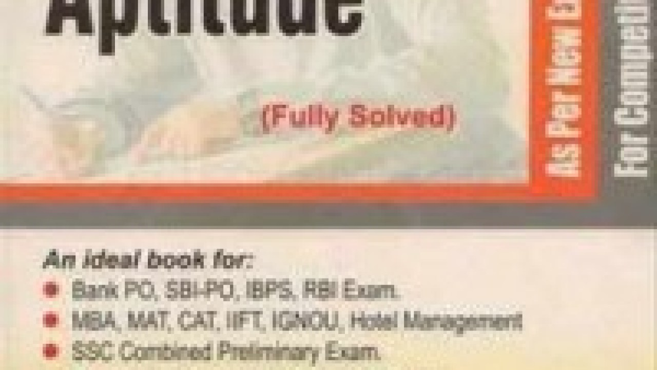 Quantitative Aptitude by R S Aggarwal PDF - EduTechLearners