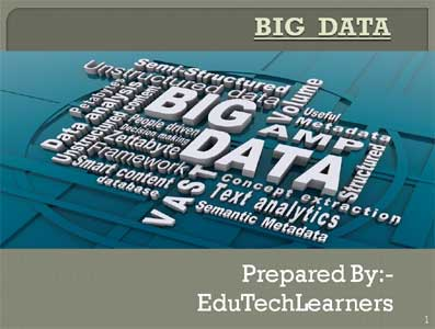 Big Data Seminar PPT