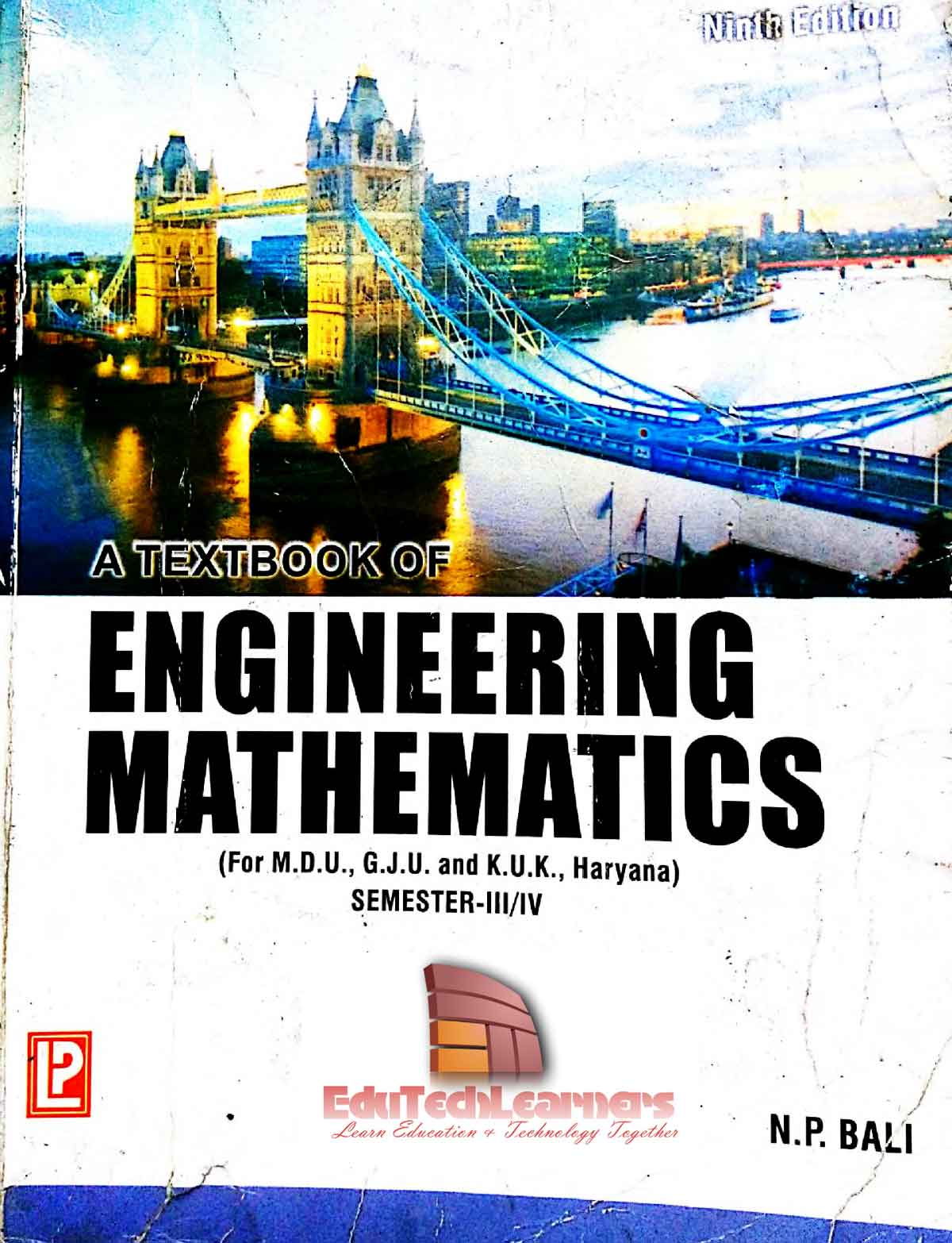A Textbook of Engineering Mathematics (Semester-III/IV) by