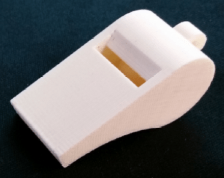 whistle 3d print