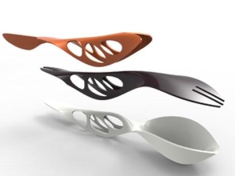 3D printed cutlery