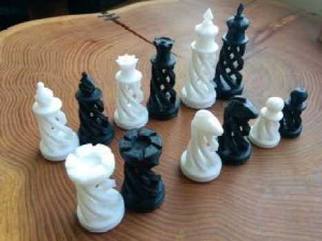 3d printed chess players