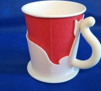 3D printed cup holder