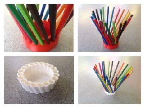 pencil holder 3d printed design