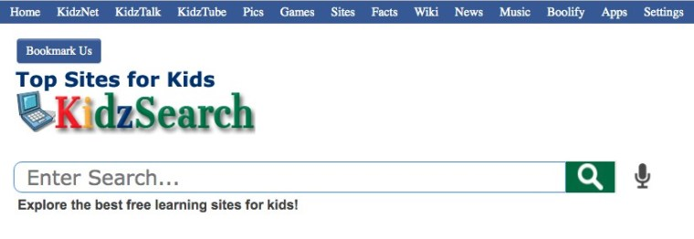 kids search top sites for kids