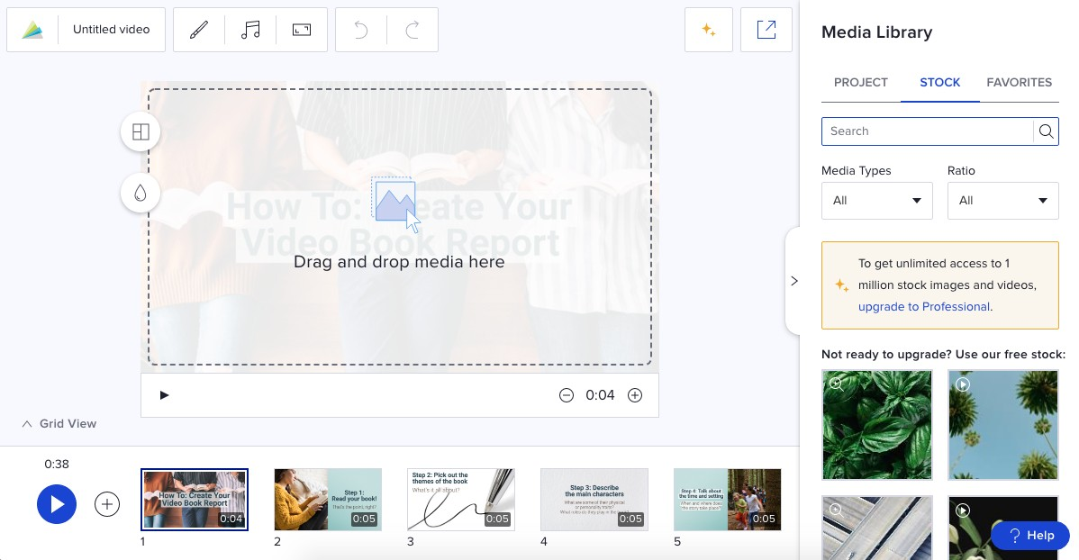 free online educational video maker tool for teachers animoto.com